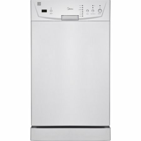 Midea 26 55 dBA Built-in Dishwasher by Equator