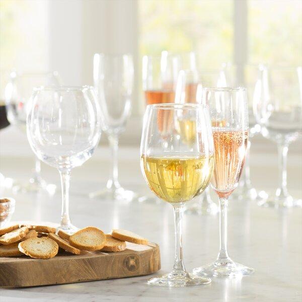 Wayfair Basics Glass 12 Piece Assorted Stemmed Glass Set (Set of 12) by Wayfair Basics™