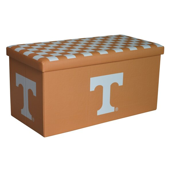 NCAA Large Storage Ottoman by Seasons Designs