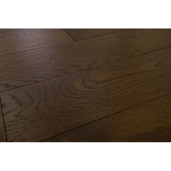 Santorini 5 Engineered Oak Hardwood Flooring in Leather by Branton Flooring Collection