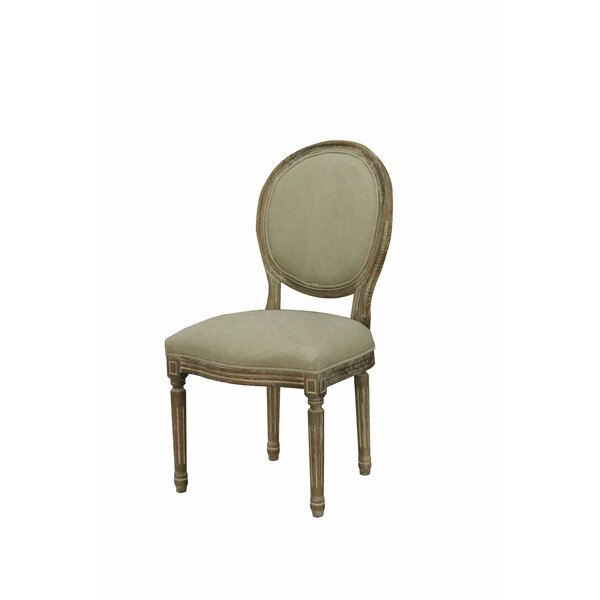 Kacie Upholstered Dining Chair (Set of 2) by One Allium Way