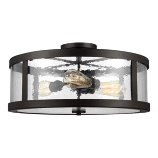 Gilberta 3-Light Semi Flush Mount By 17 Stories Ceiling Lights