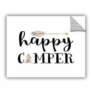 Cedric Happy Camper I Wall Decal