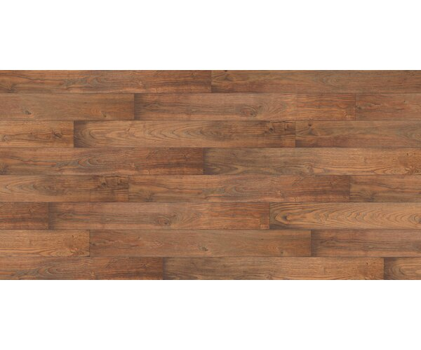 Restoration 6'' x 51'' x 12mm Chestnut Laminate Flooring in Nutmeg by Mannington
