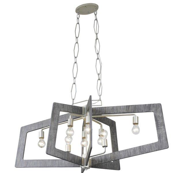 Islais 8 - Light Unique / Statement Geometric Chandelier by Trent Austin Design Trent Austin Design