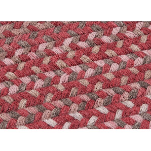 Oak Harbour Rhubarb Red Area Rug by Colonial Mills