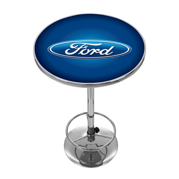 Ford Oval Pub Table by Trademark Global