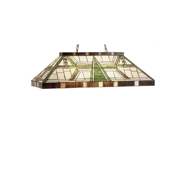 Dana House Oblong 6-Light Pool Table Light by Meyda Tiffany