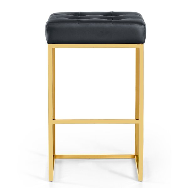 Leeson Leather 29 Bar Stool by Mercer41