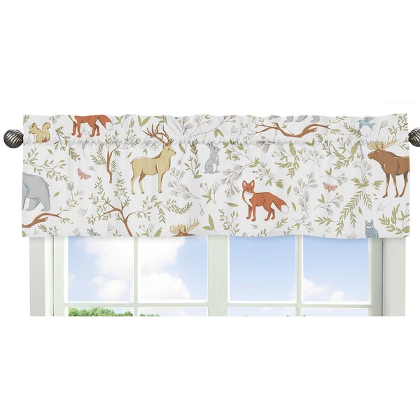 Woodland Toile 54 Curtain Valance by Sweet Jojo Designs