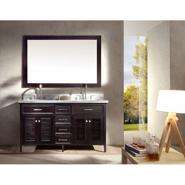 Hamil 61 Double Bathroom Vanity Set with Mirror