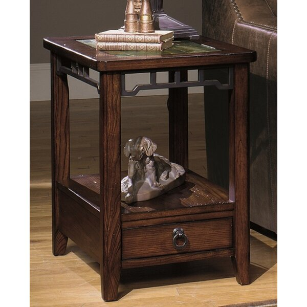 5013 End Table with Storage by Wildon Home®