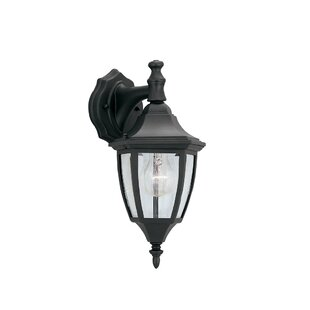 Best Price Slusser Traditional 1-Light Outdoor Wall Lantern By Charlton Home