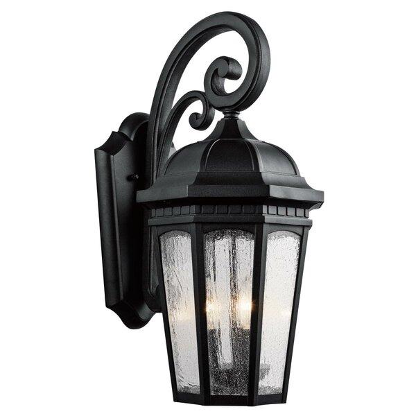 Courtyard 3-Light Outdoor Wall Lantern by Kichler