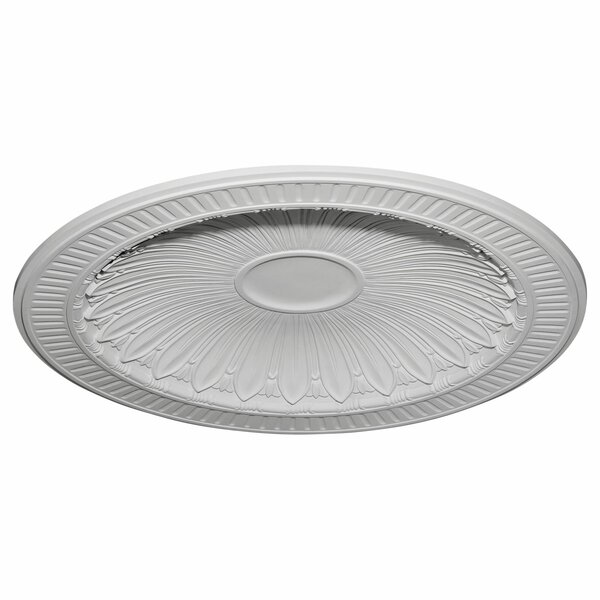 Devon 47 3/8H x 47 3/8W x 3 3/4D Recessed Mount Ceiling Dome by Ekena Millwork