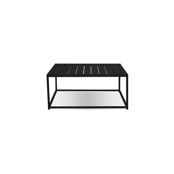 Saxonburg Aluminum Side Table by Latitude Run