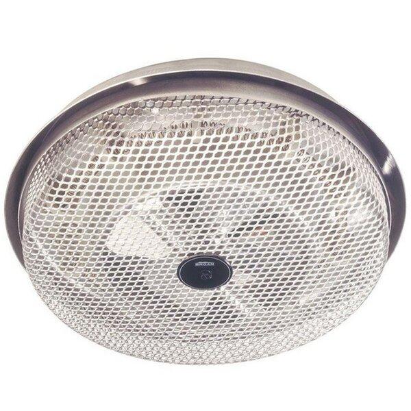 1250 Watt Ceiling Mounted Electric Fan Heater by Broan