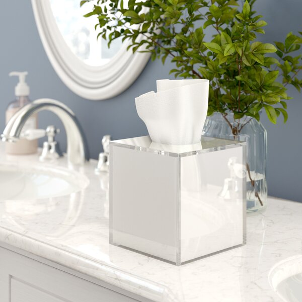 Armenta Frost Tissue Box Cover by Bloomsbury Market