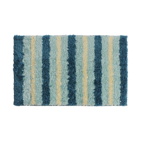 Blue/Cream Area Rug by Attraction Design Home