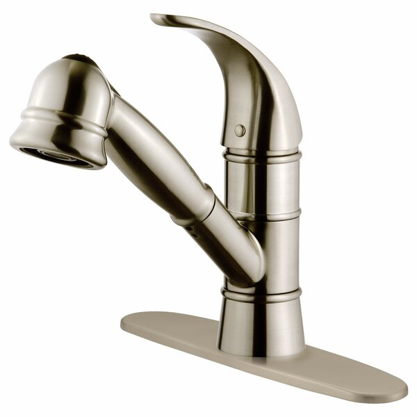 Single Handle Pull-Out Kitchen Faucet By LessCare