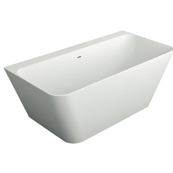 Glenwood 67 x 32 Freestanding Soaking Bathtub by Transolid