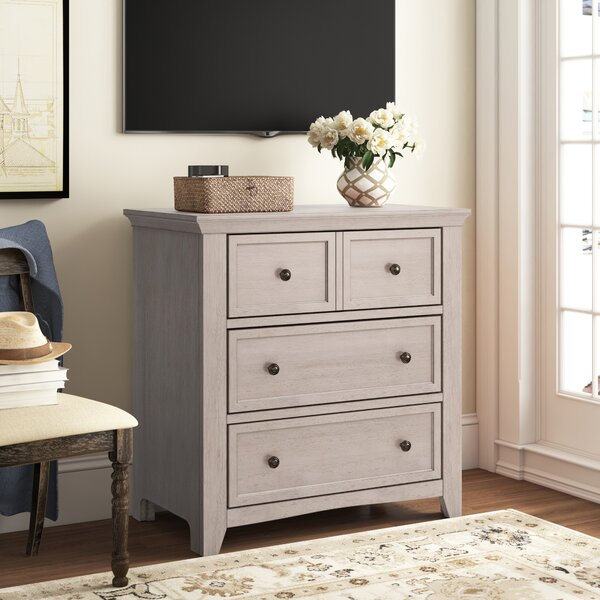 Woodside 3 Drawer Chest by Three Posts