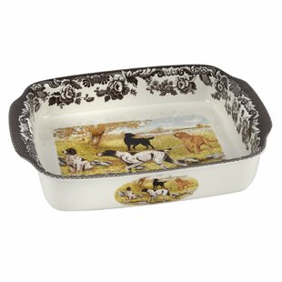 American Bison Porcelain Plate w// Display Stand