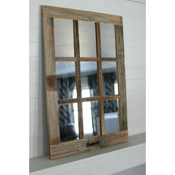 Forester Farmhouse 9 Pane Accent Mirror by Millwood Pines