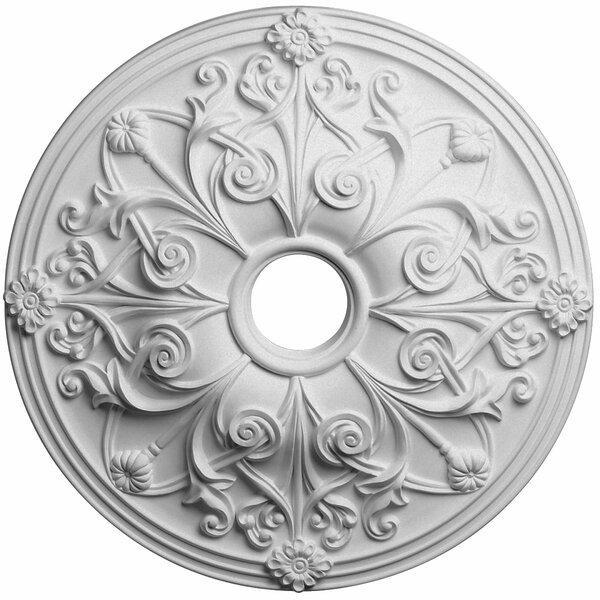 Jamie 1/9H x 23 5/8 W x 2 1/8D Ceiling Medallion by Ekena Millwork