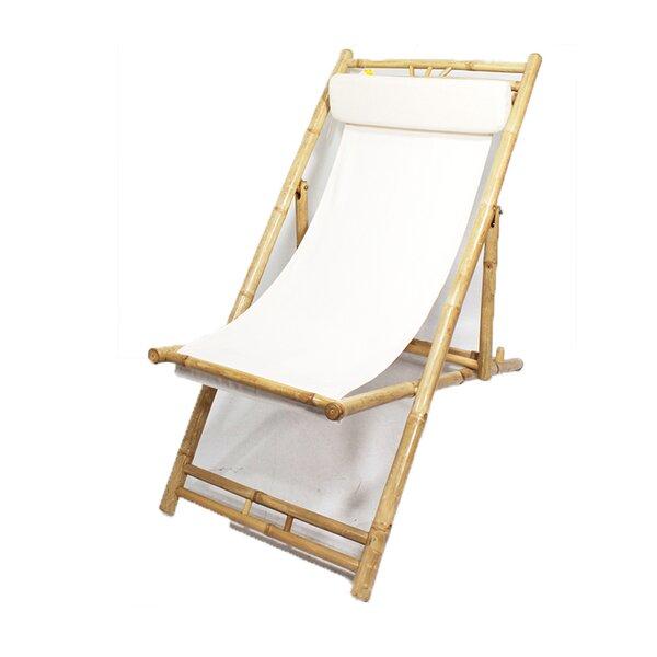 Folding Beach Chair with Cushion (Set of 2) by Heather Ann Creations