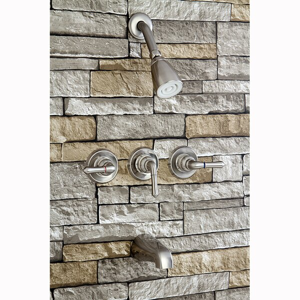 Magellan Tub And Shower Faucet  With Valve By Kingston Brass