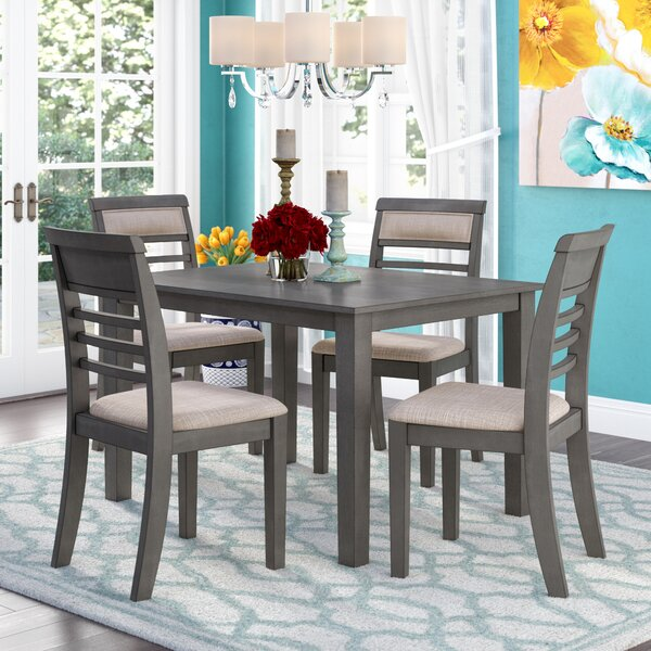Romel 5 Piece Dining Set by Red Barrel Studio