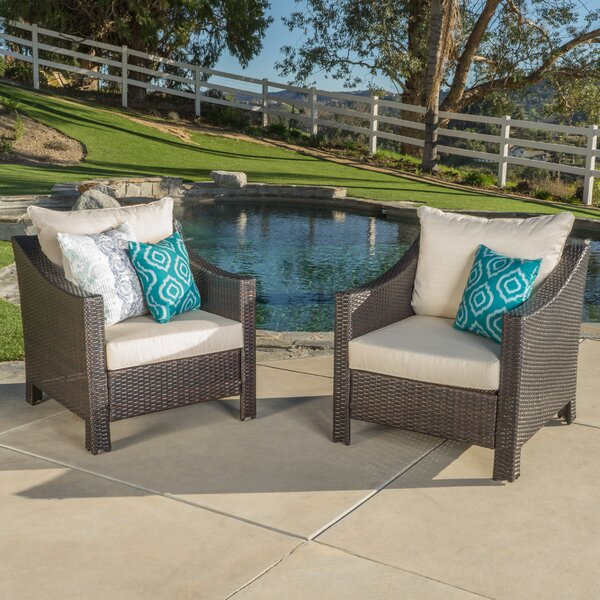 Portola Patio Chair With Cushion (Set Of 2) By Sol 72 Outdoor by Sol 72 Outdoor Coupon
