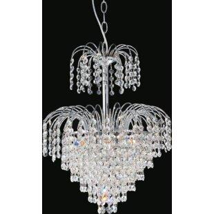 Palm tree chandelier wayfair palm tree 7 light crystal chandelier aloadofball Choice Image