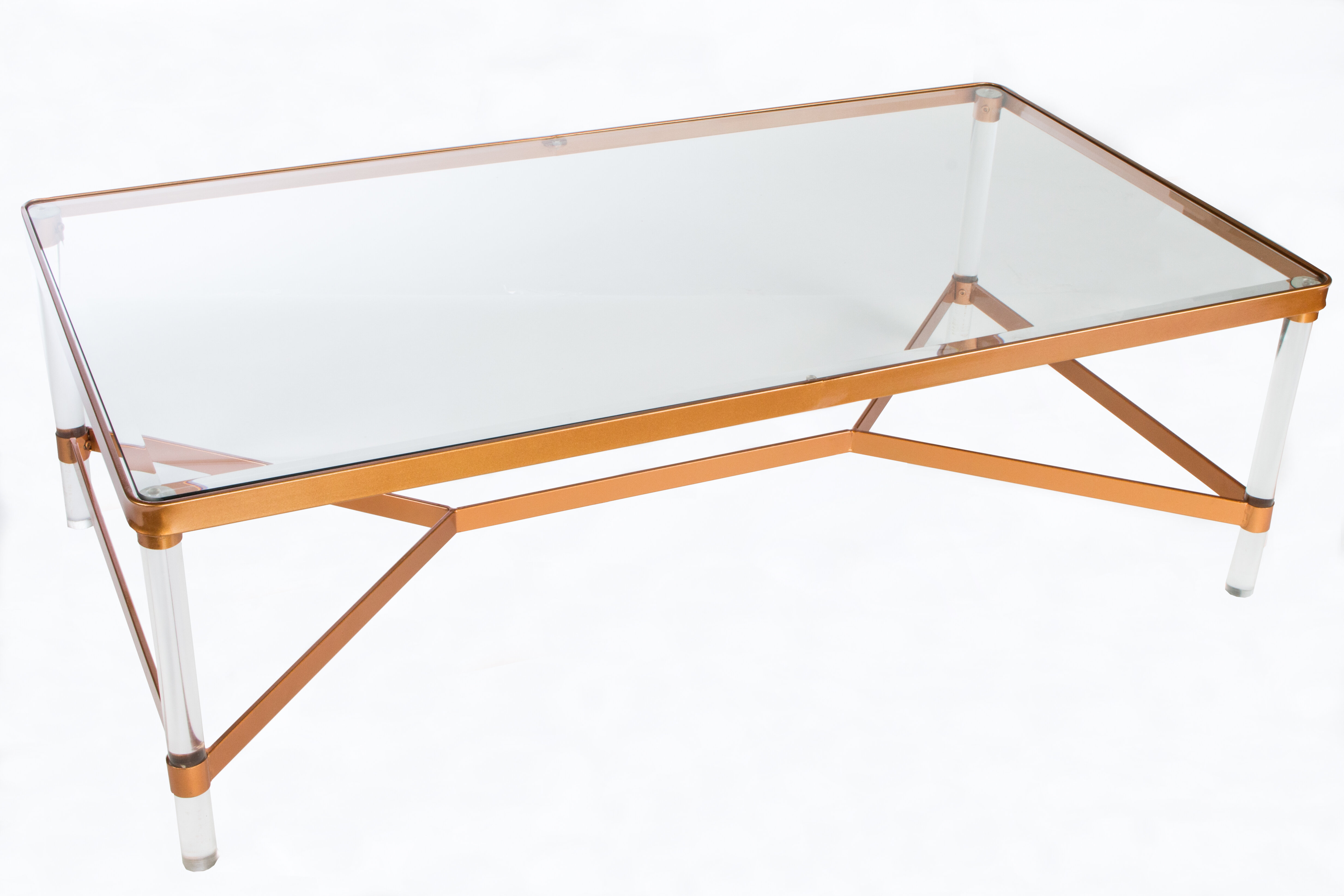 Statements by J Mireille Acrylic Coffee Table & Reviews