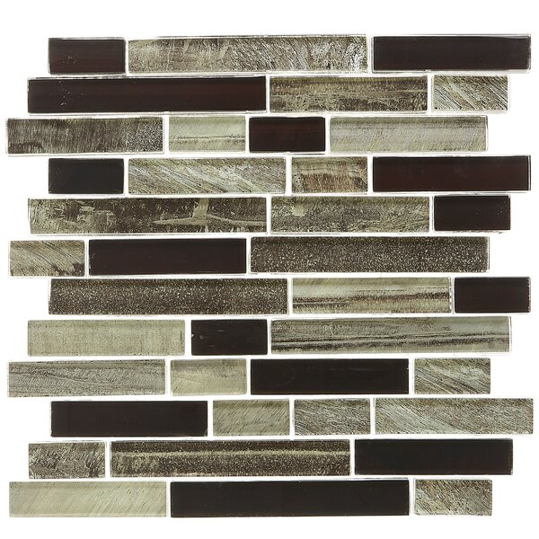 Rhodes Random Sized Glass Mosaic Tile in Malayan by Itona Tile