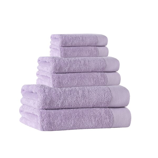 Cartwright 6 Piece Turkish Cotton Towel Set by Eider & Ivory