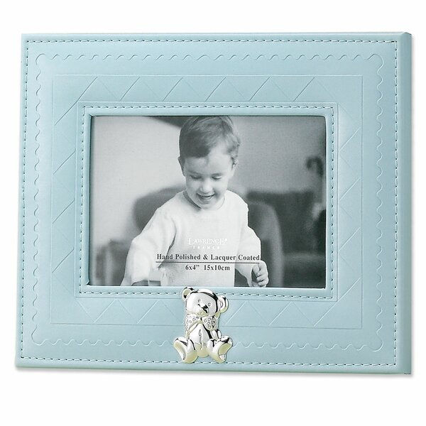 Faux Leather Picture Frame by Lawrence Frames