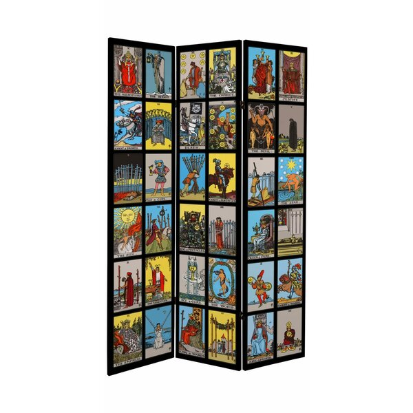 Sartin 3 Panel Room Divider by Bloomsbury Market