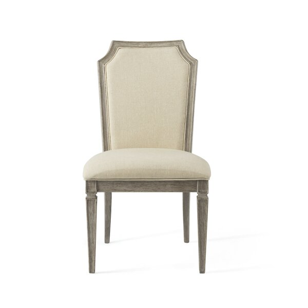 Woodard Solid Wood Side Chair in Driftwood (Set of 2) by Gracie Oaks Gracie Oaks