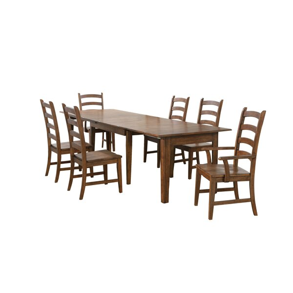 Huerfano Valley 7 Piece Extendable Dining Set by Loon Peak