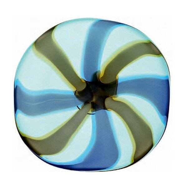 Ivana Stripes Platter by Brayden Studio