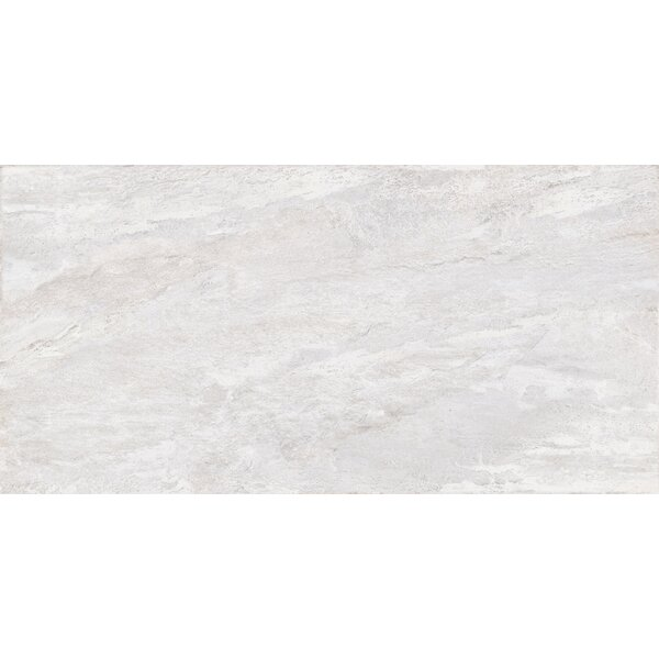 Milestone 24 x 47 Porcelain Field Tile in White by Emser Tile
