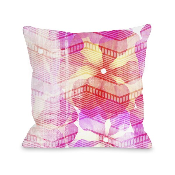 Senny Flowers Throw Pillow by One Bella Casa
