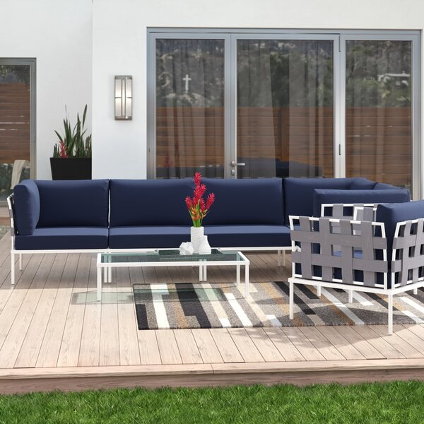 Darnell 7 Piece Sectional Set with Cushions by Brayden Studio