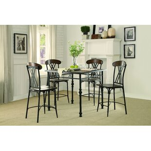High Plain 5 Piece Dining Set By Loon Peak