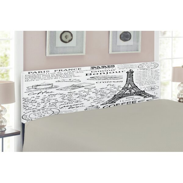 Paris Upholstered Panel Headboard by East Urban Home East Urban Home