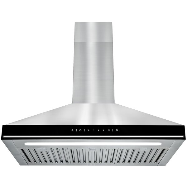 30 217 CFM Convertible Wall Mount Range Hood by AK
