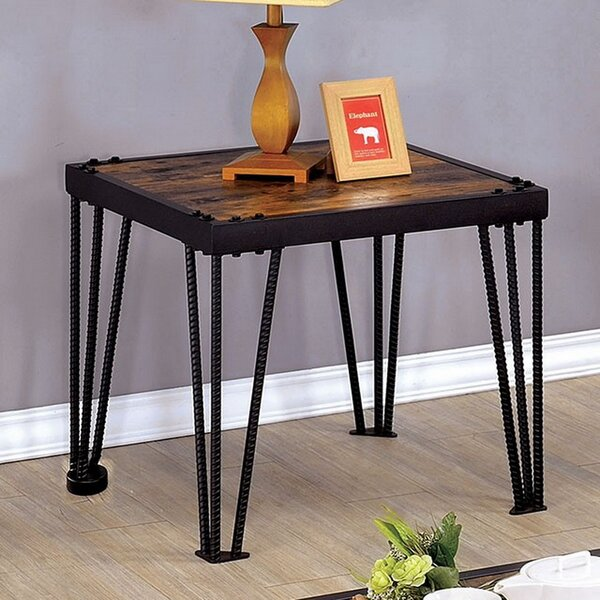 Boettcher End Table by Williston Forge