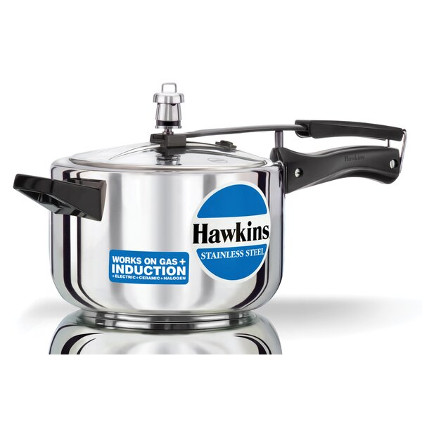Stainless Steel Pressure Cooker by Hawkins